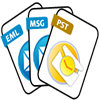 PST, MSG and EML